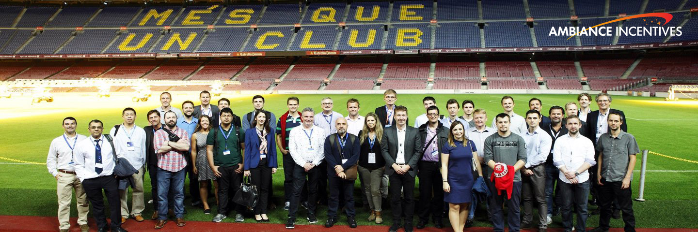 Project: Intel - 40 Pax - Camp Nou Corporate Event - Barcelona 2016