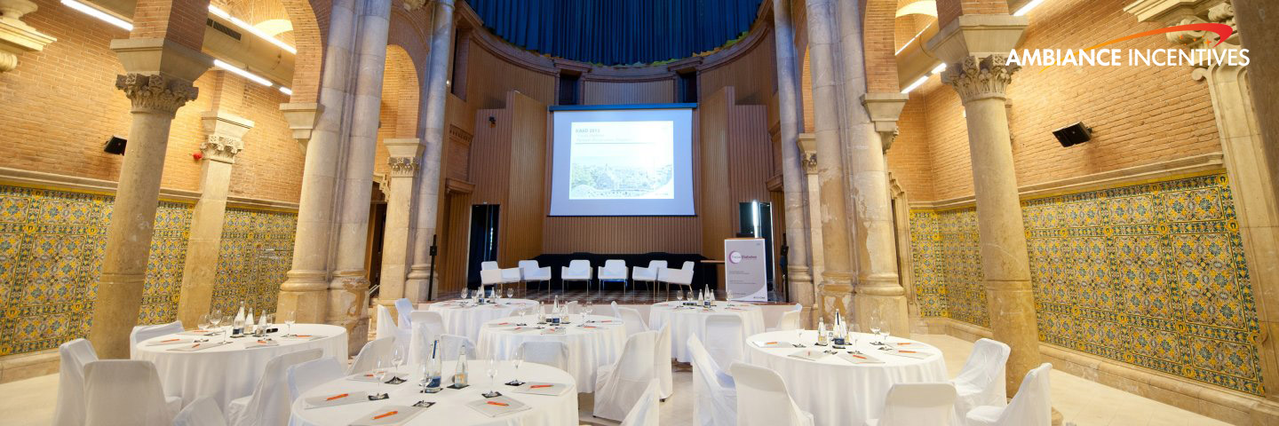 Project: Roche - 50 Pax - Product Presentation during Medical Congress - Barcelona 2013